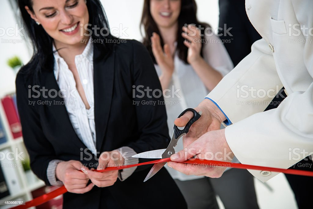 Opening ceremony stock photo