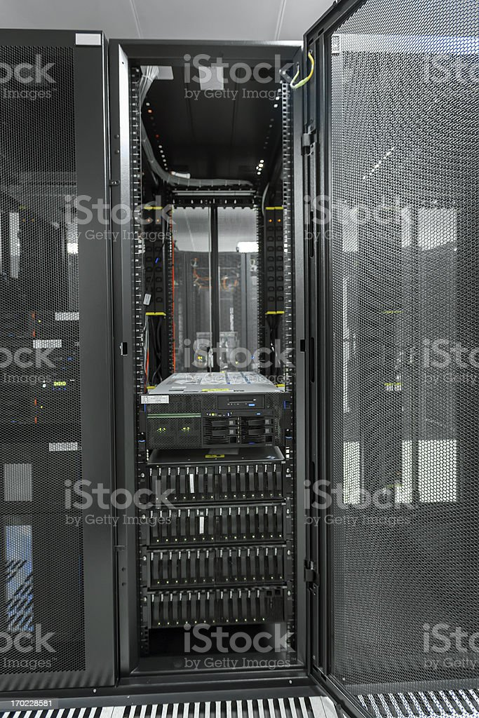 Opening door Cabinets in the date room royalty-free stock photo