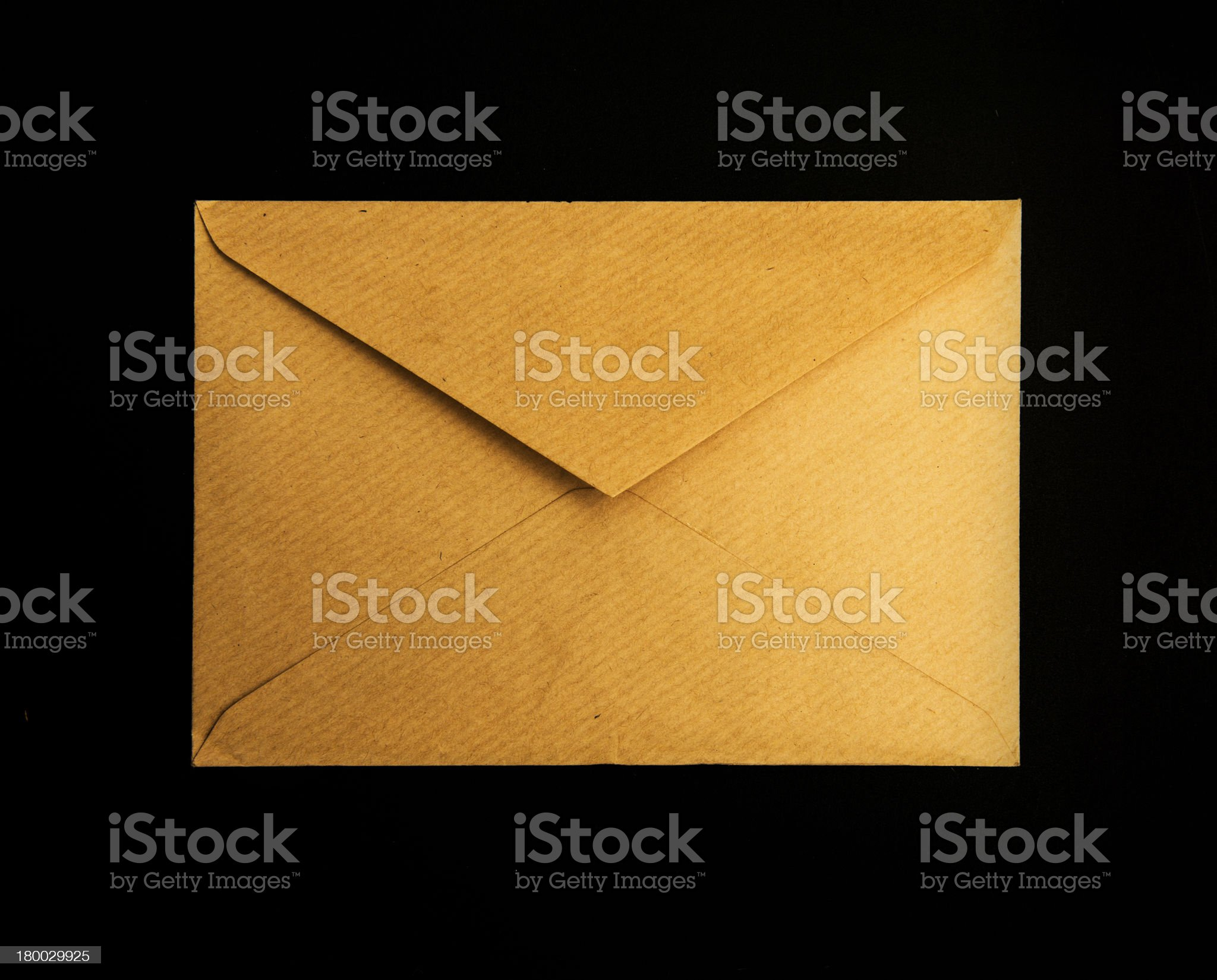 Opening envelope royalty-free stock photo