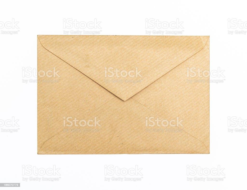 Opening envelope royalty-free stock photo