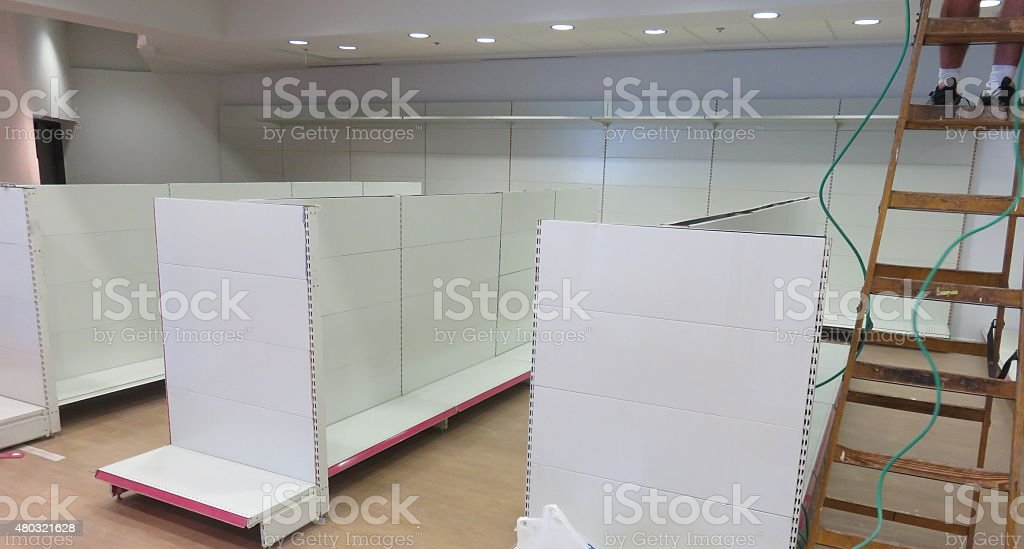 Opening of a new store stock photo