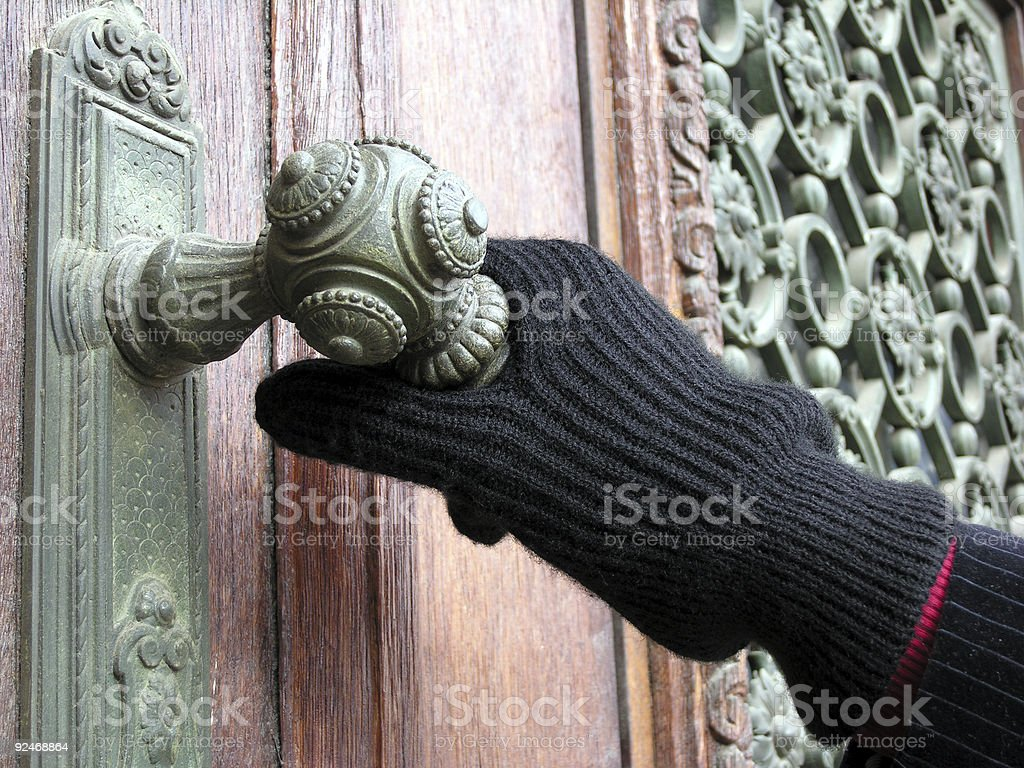 Opening royalty-free stock photo