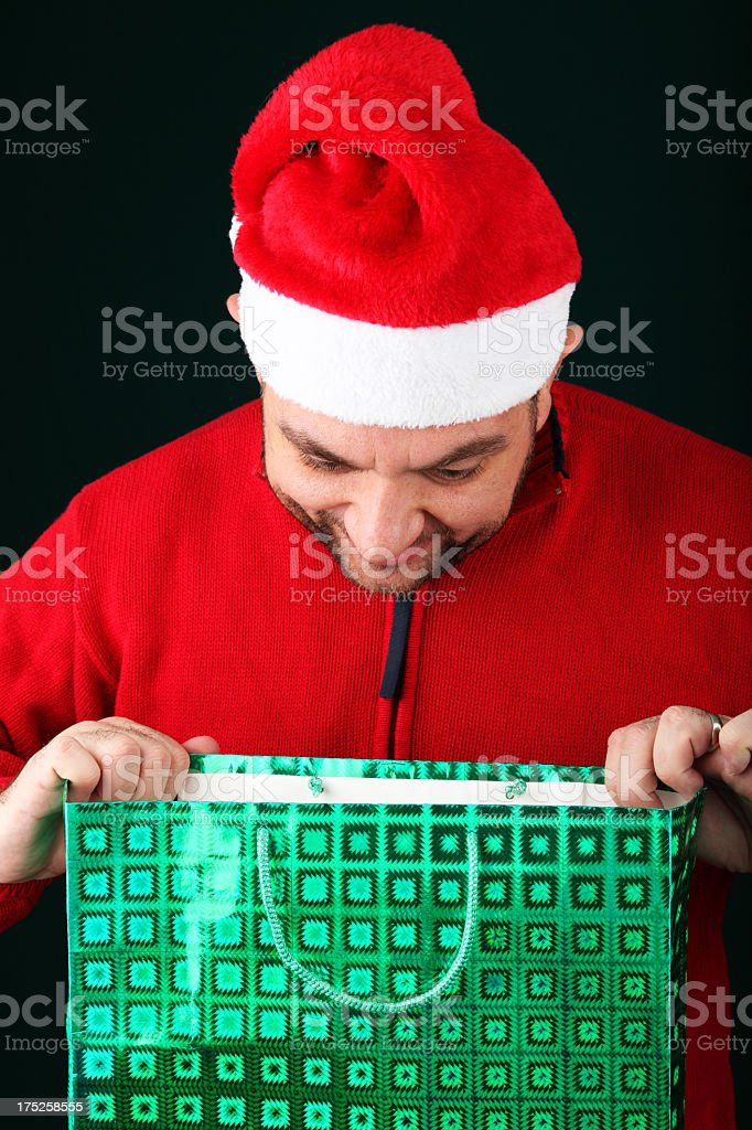 Opening Present royalty-free stock photo