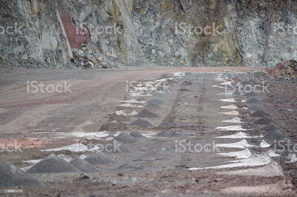 Open-pit Mine stock photo