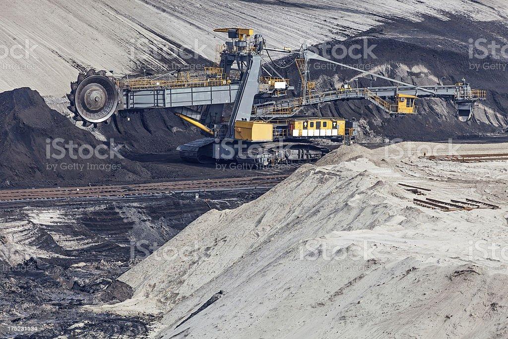 Open-pit Mining stock photo