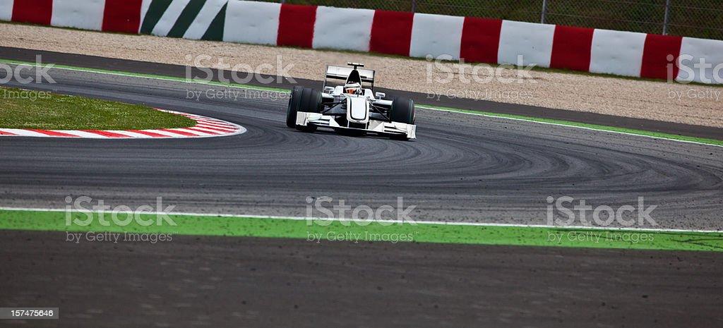 Open-wheel Racecar stock photo