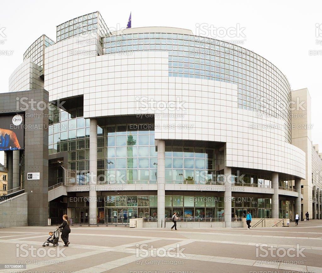 Opera Bastille de Paris stock photo