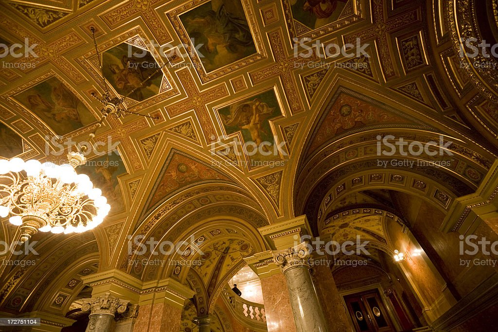 Opera Budapest royalty-free stock photo