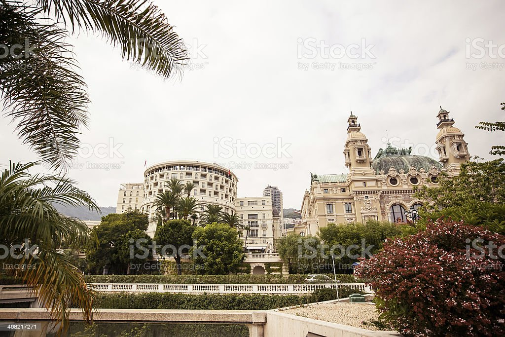 Opera de Monte-Carlo stock photo