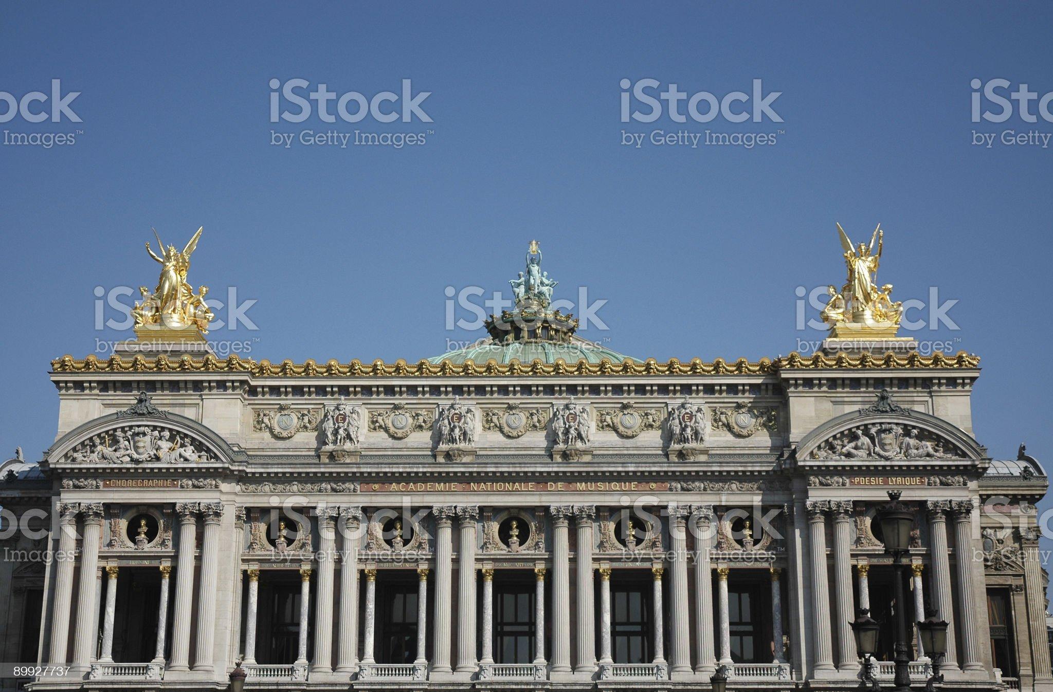 Opera Garnier, Paris royalty-free stock photo