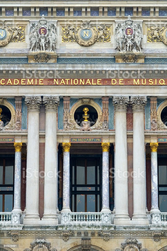 Opera Garnier, Paris stock photo