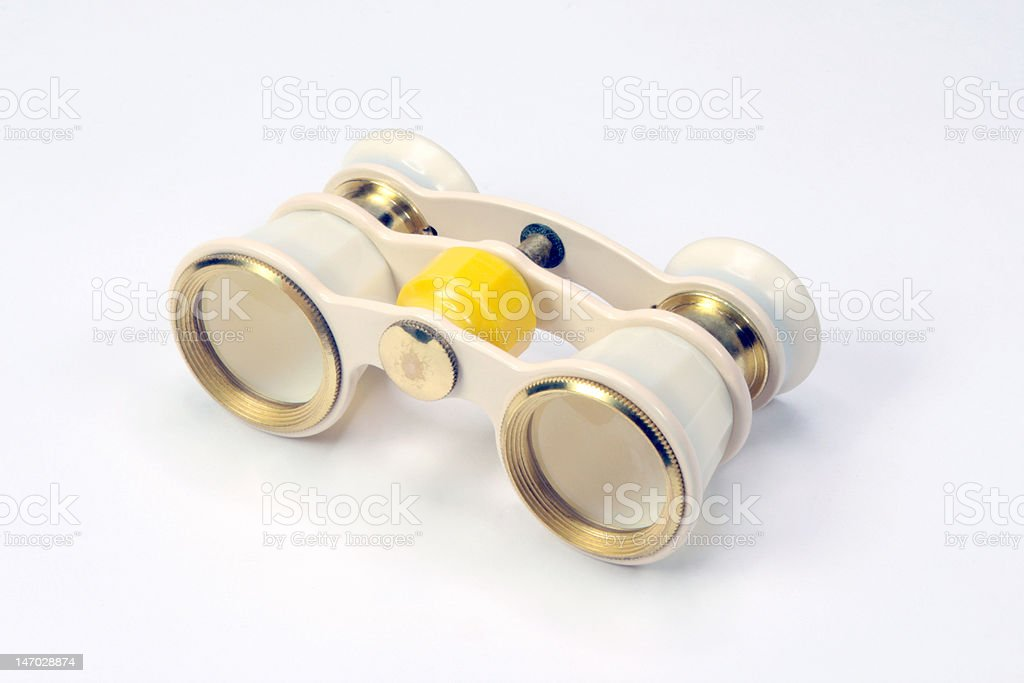 Opera glasses royalty-free stock photo