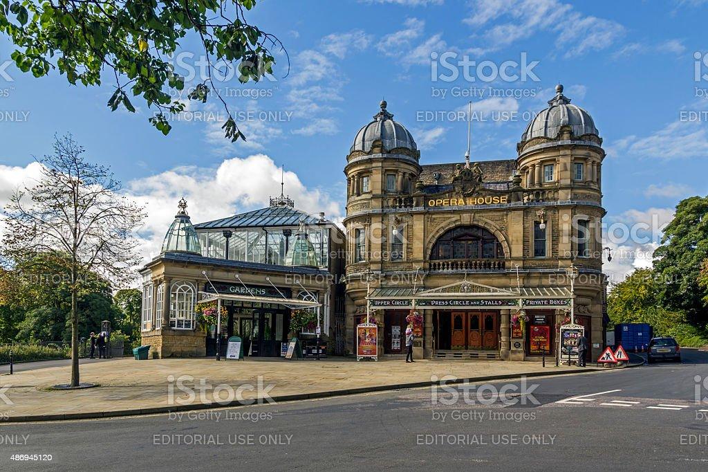 Opera House in Buxton Derbyshire stock photo