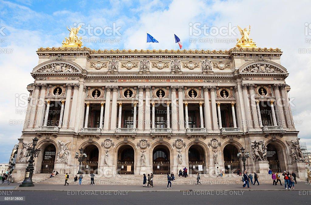 Opera House in Paris stock photo