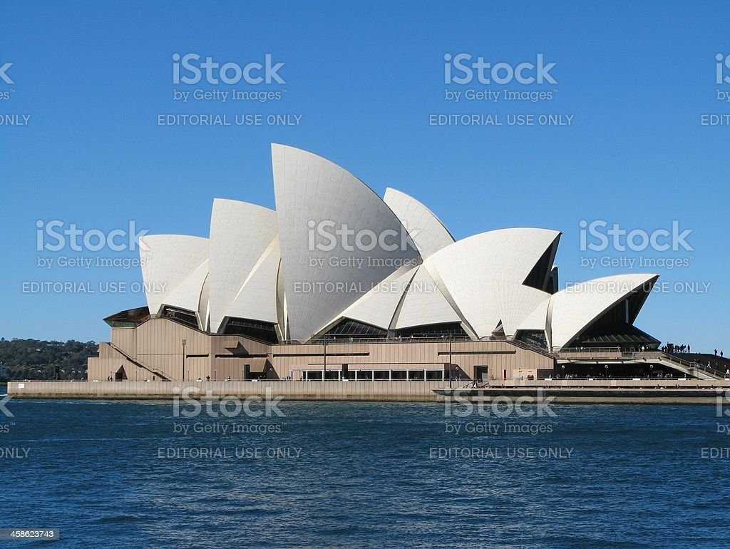 Opera House in Sydney royalty-free stock photo