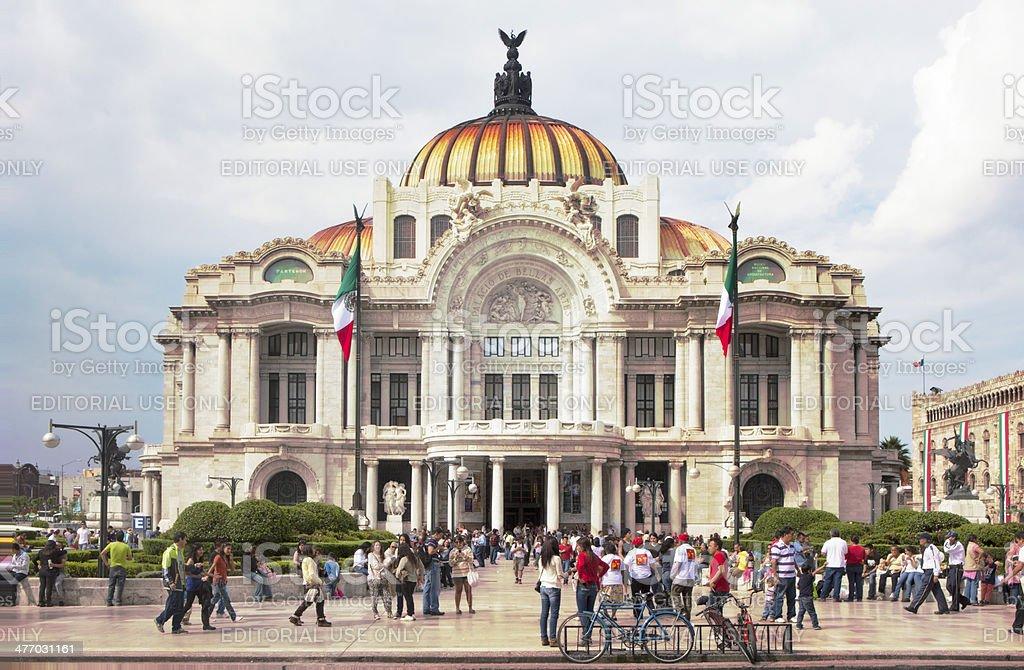 Opera House, Mexico City stock photo