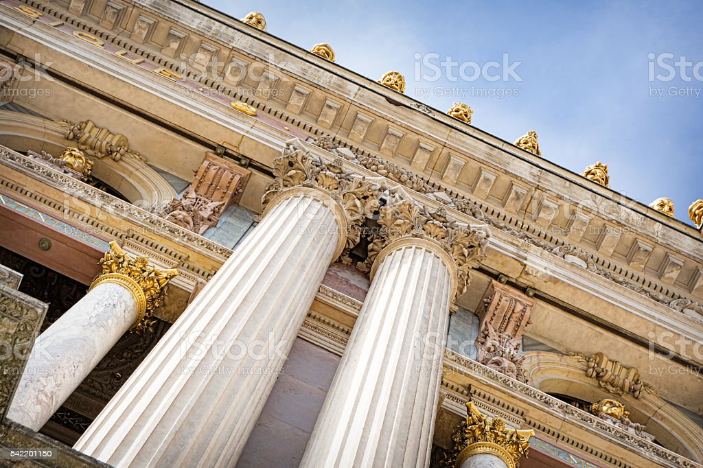 Opera house Palais Garnier, Paris, France stock photo