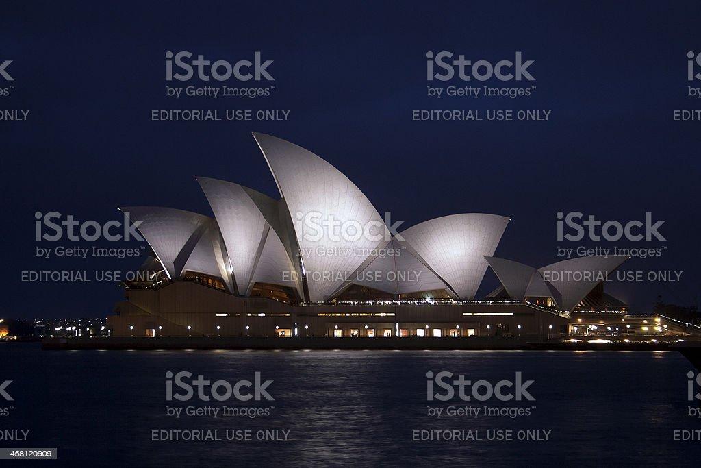 Opera House Sidney Australia royalty-free stock photo