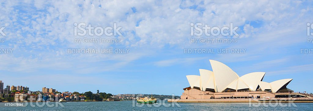 Opera House, Sydney Australia stock photo