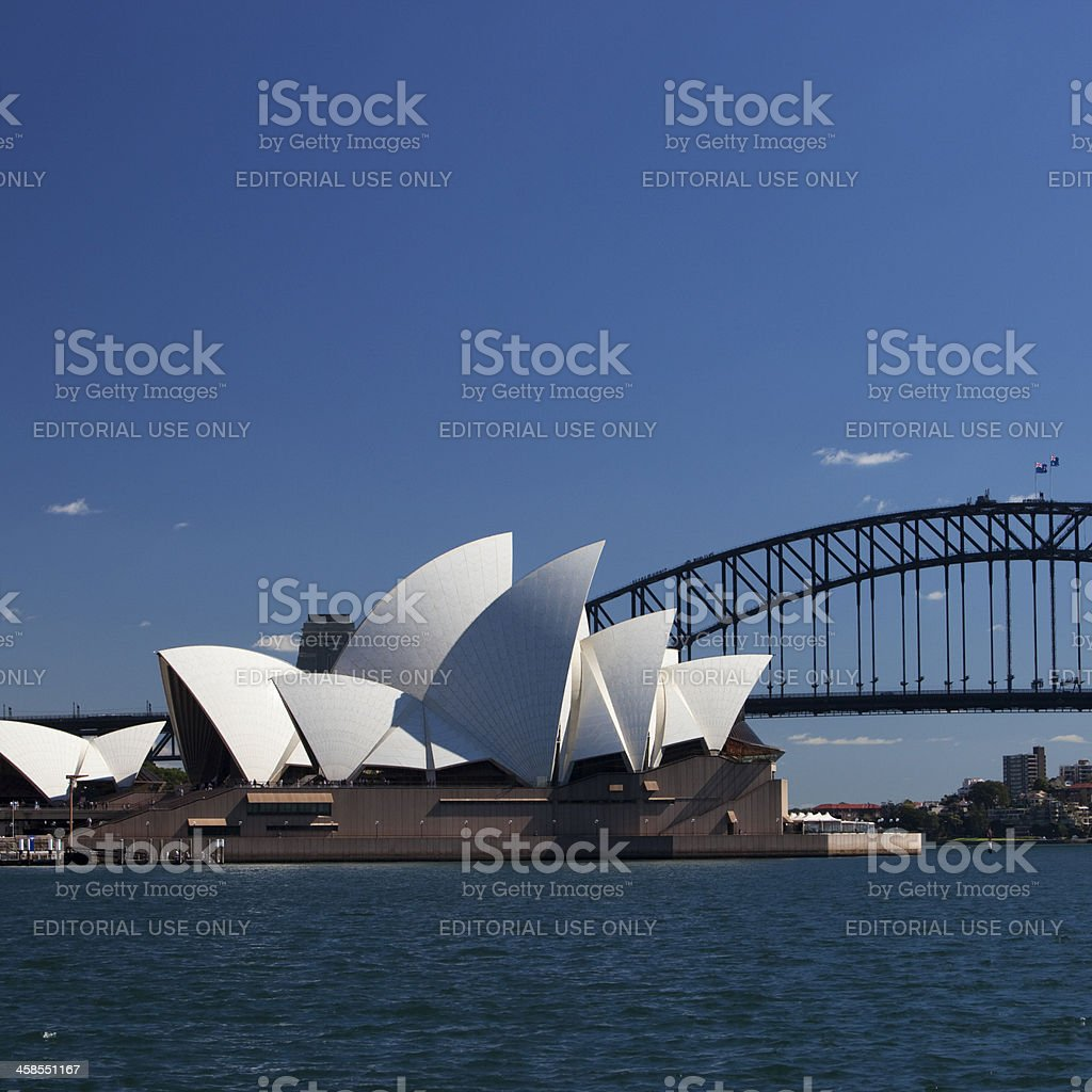 Opera House, Sydney royalty-free stock photo
