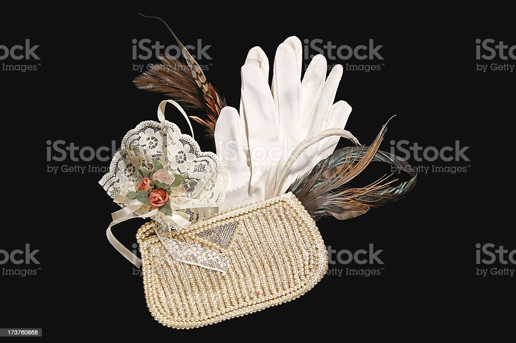 Opera Items from the 1920 years royalty-free stock photo