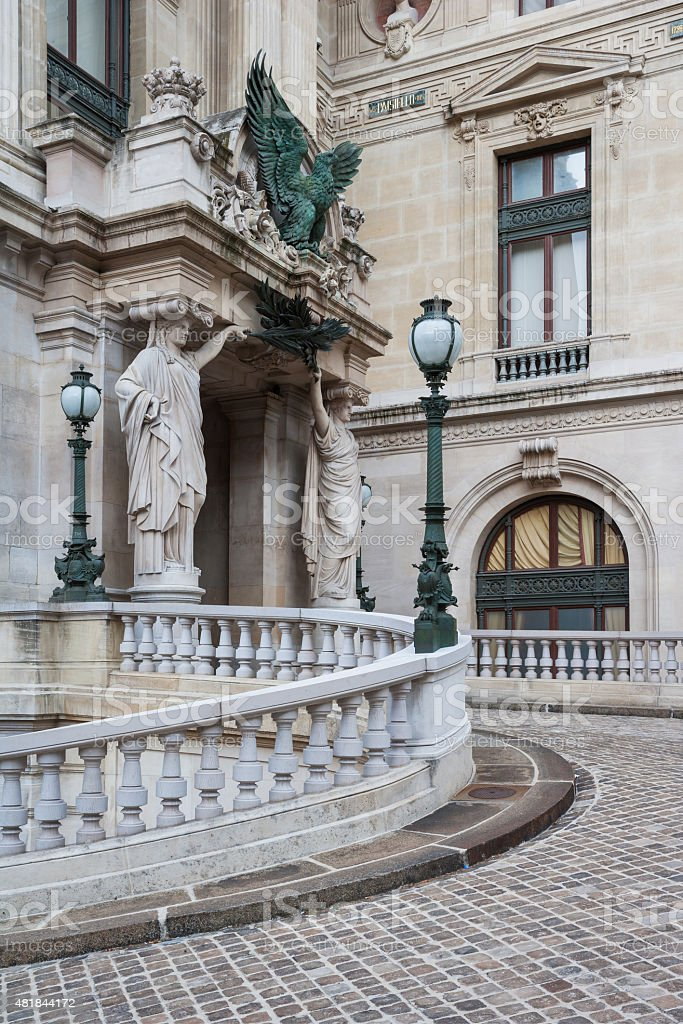 Opera National de Paris. Grand Opera (Opera Garnier), Paris, France stock photo