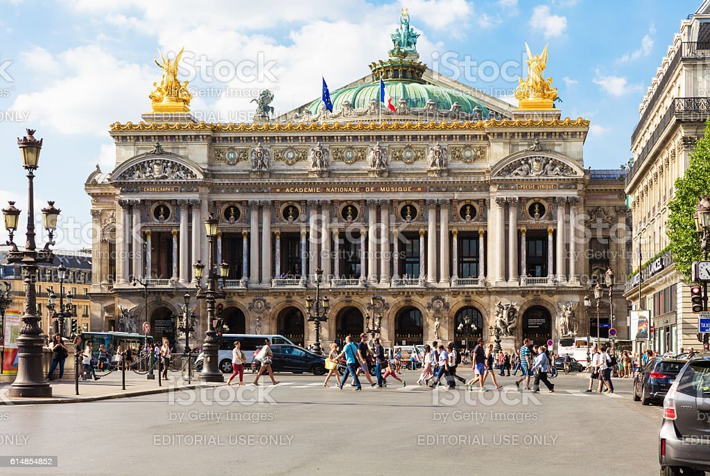 Opera National de Paris - Grand Opera (Opera Garnier), Paris, France stock photo