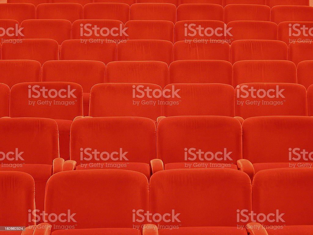 Opera seats 02 royalty-free stock photo