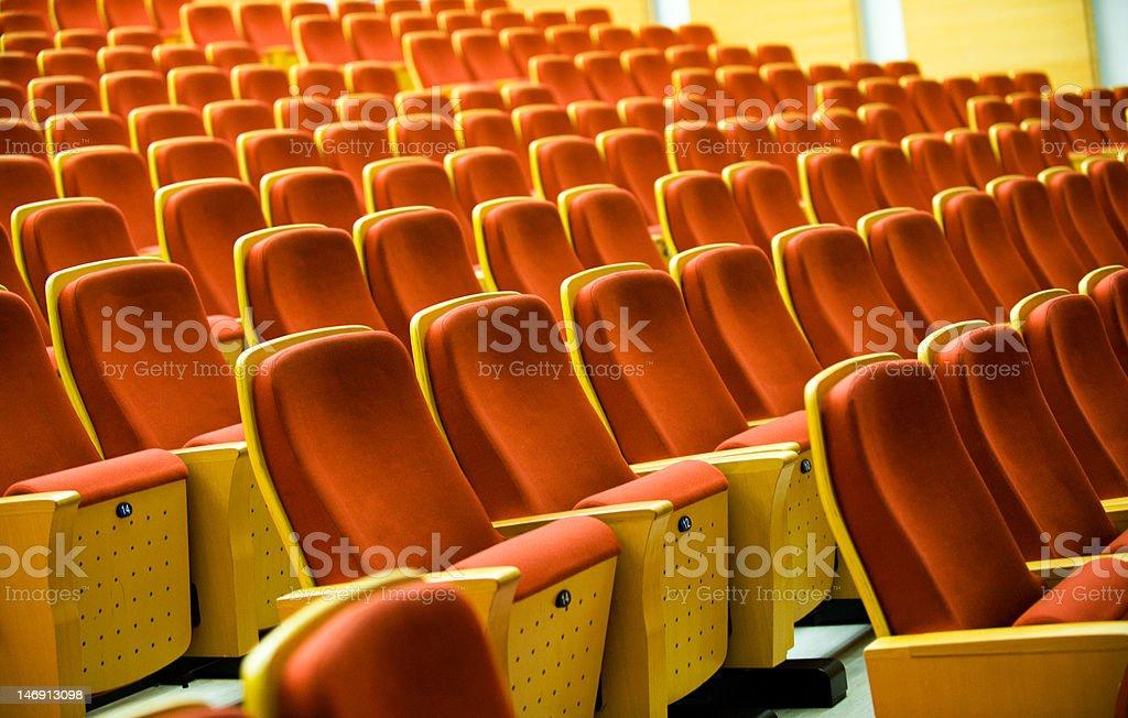 Opera seats royalty-free stock photo