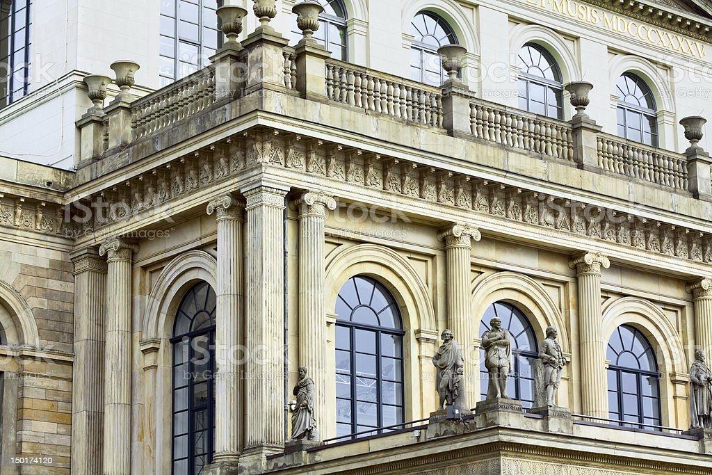 Opera 'Staatsoper Hannover' stock photo