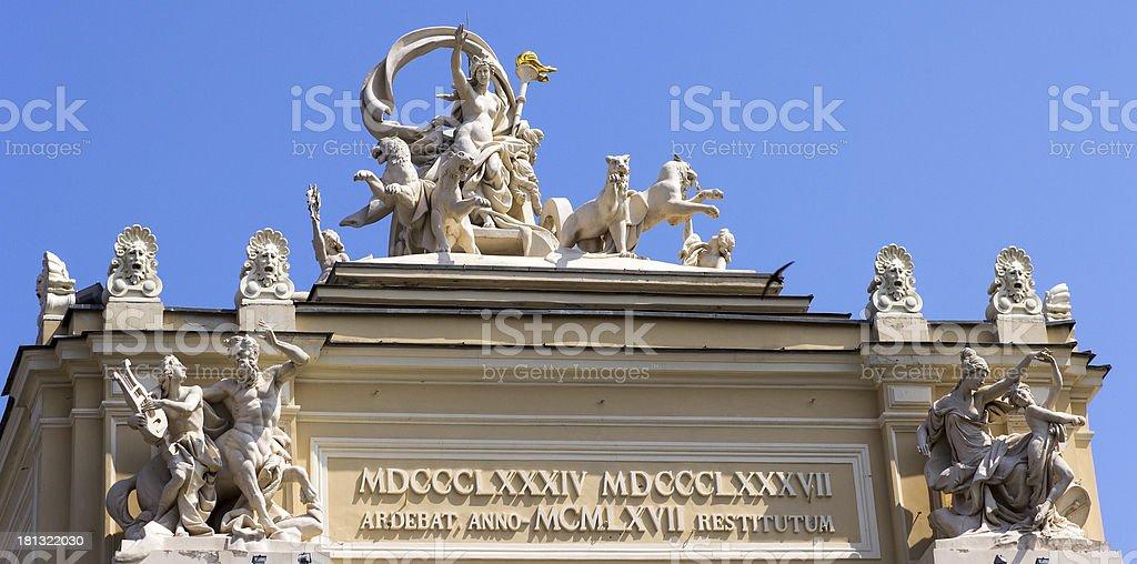 Opera theater in Odessa, Ukraine royalty-free stock photo