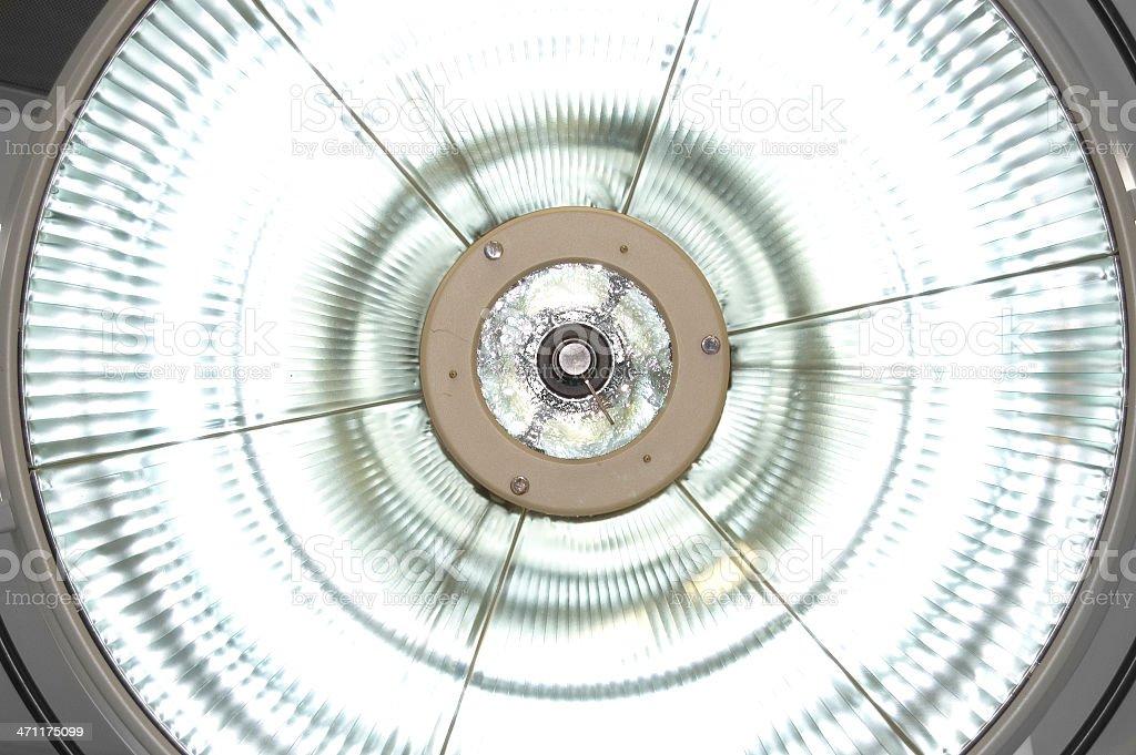 Operating Theatre Light royalty-free stock photo