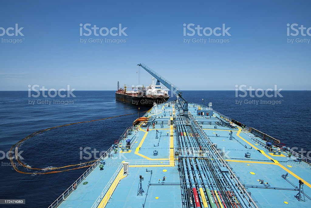 FPSO Operation stock photo