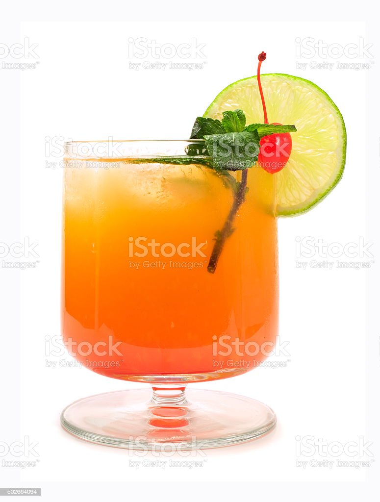 Operation Recoverer cocktail stock photo