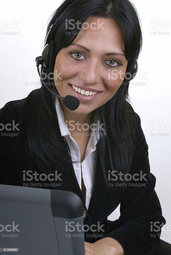 operator at work royalty-free stock photo