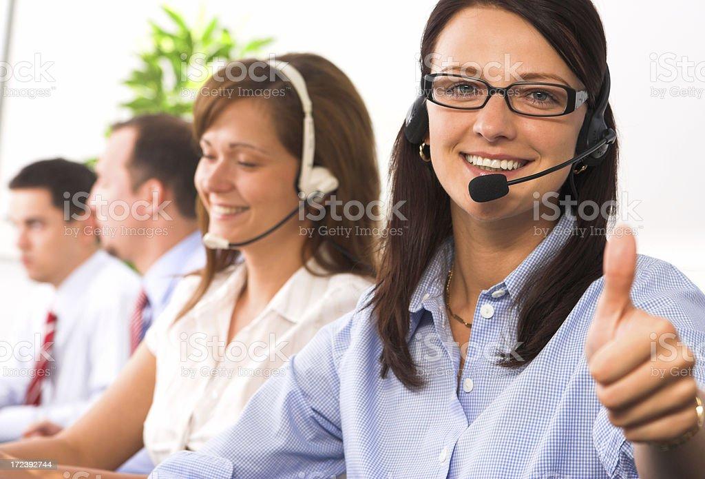 Operators royalty-free stock photo