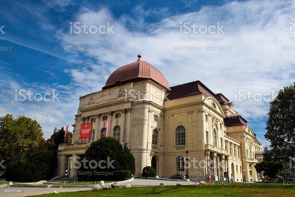 Opernhaus Graz stock photo