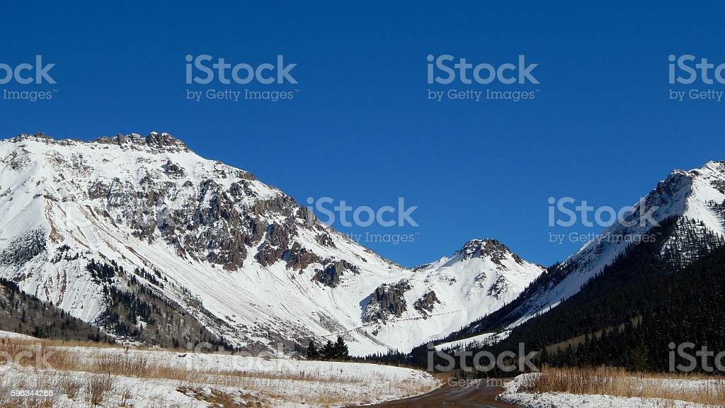 Ophir Pass stock photo