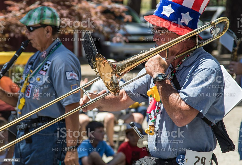 Ophir Prison Marching & Kazoo Band stock photo