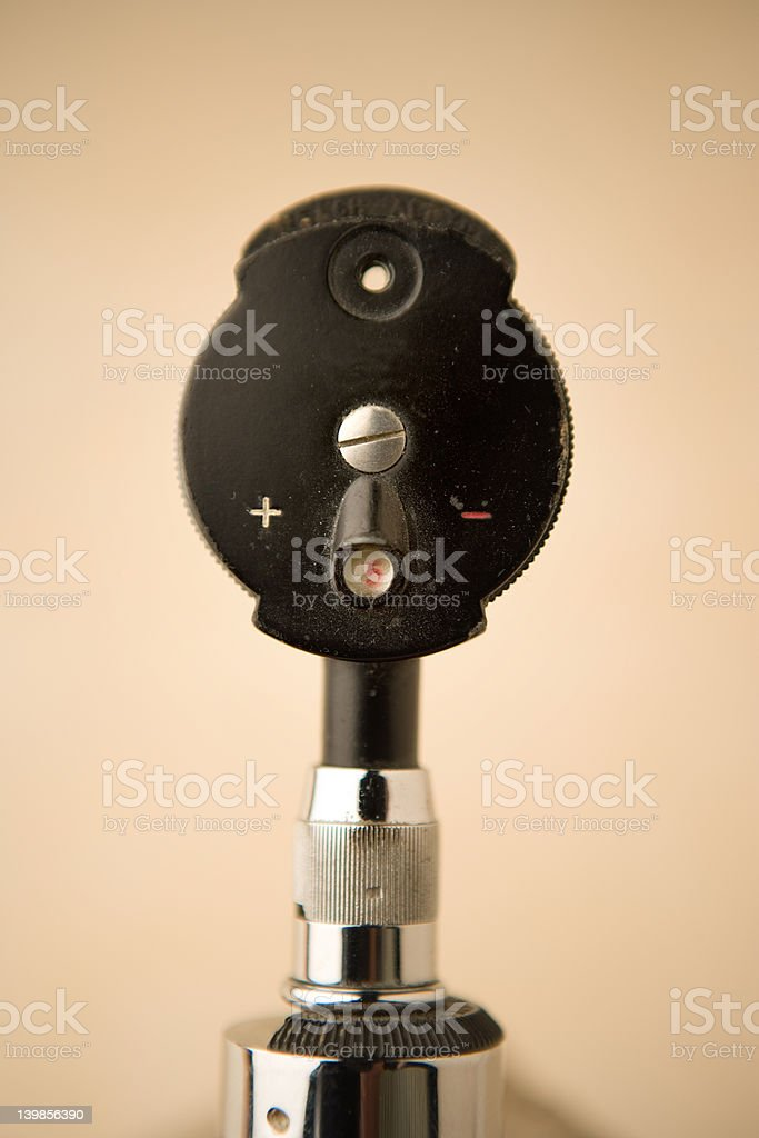 ophthalmoscope royalty-free stock photo