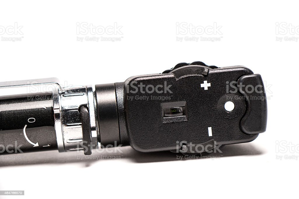 Ophthalmoskop stock photo