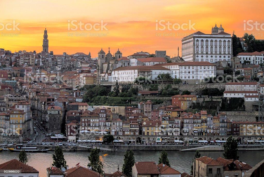 Oporto city Landscape stock photo
