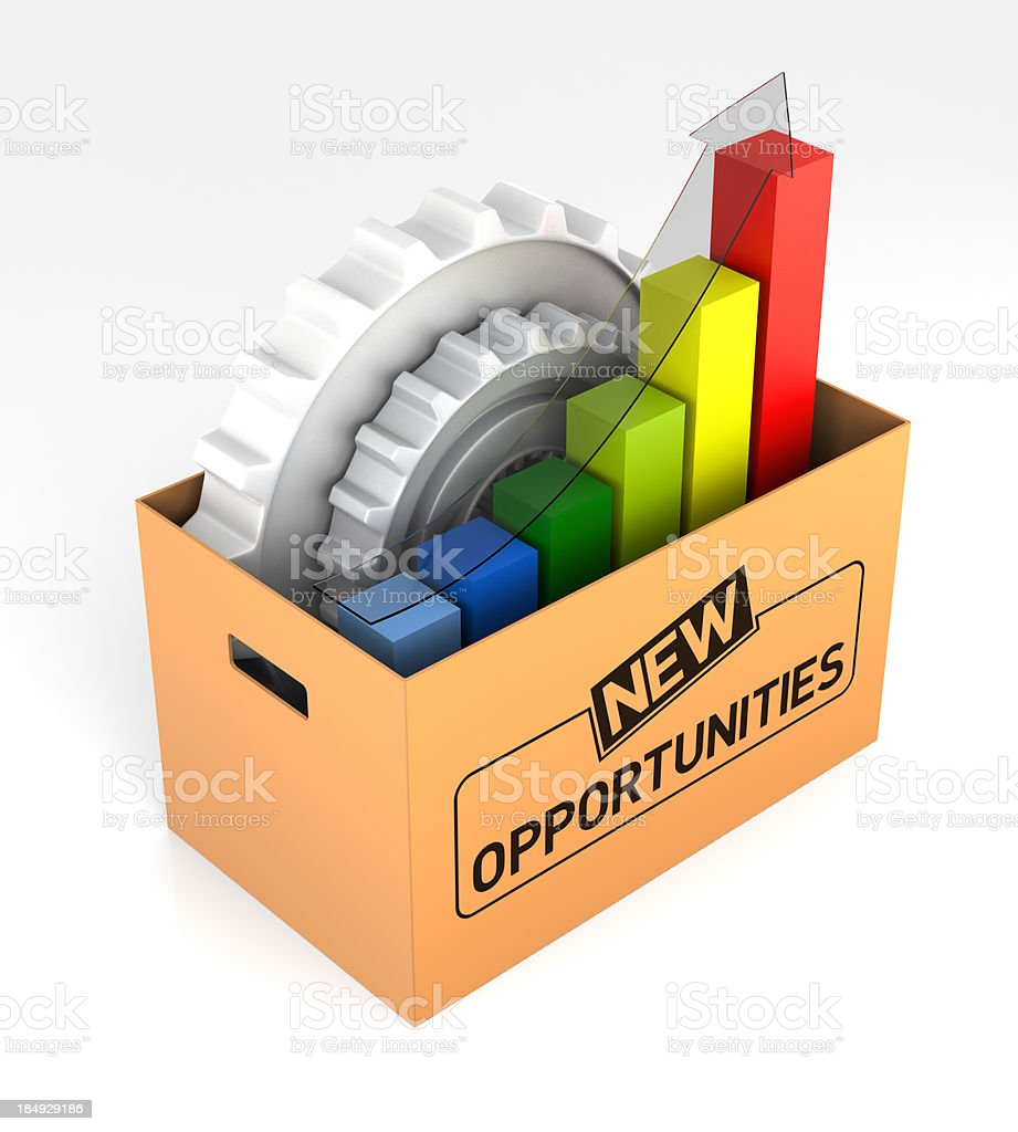 Opportunity Box royalty-free stock photo