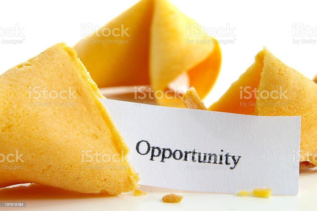 Opportunity knocks royalty-free stock photo