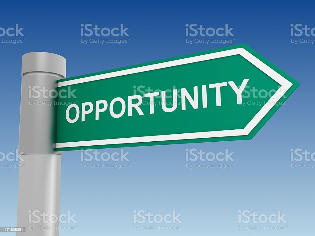 Opportunity royalty-free stock photo