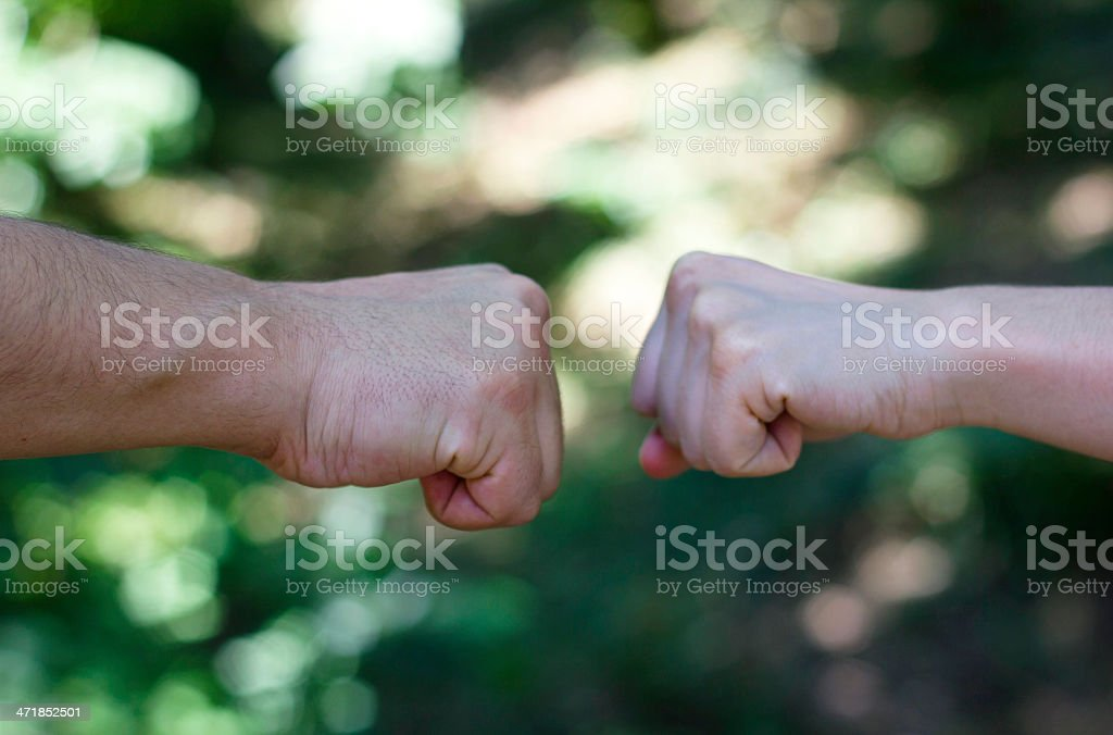 Opposition royalty-free stock photo