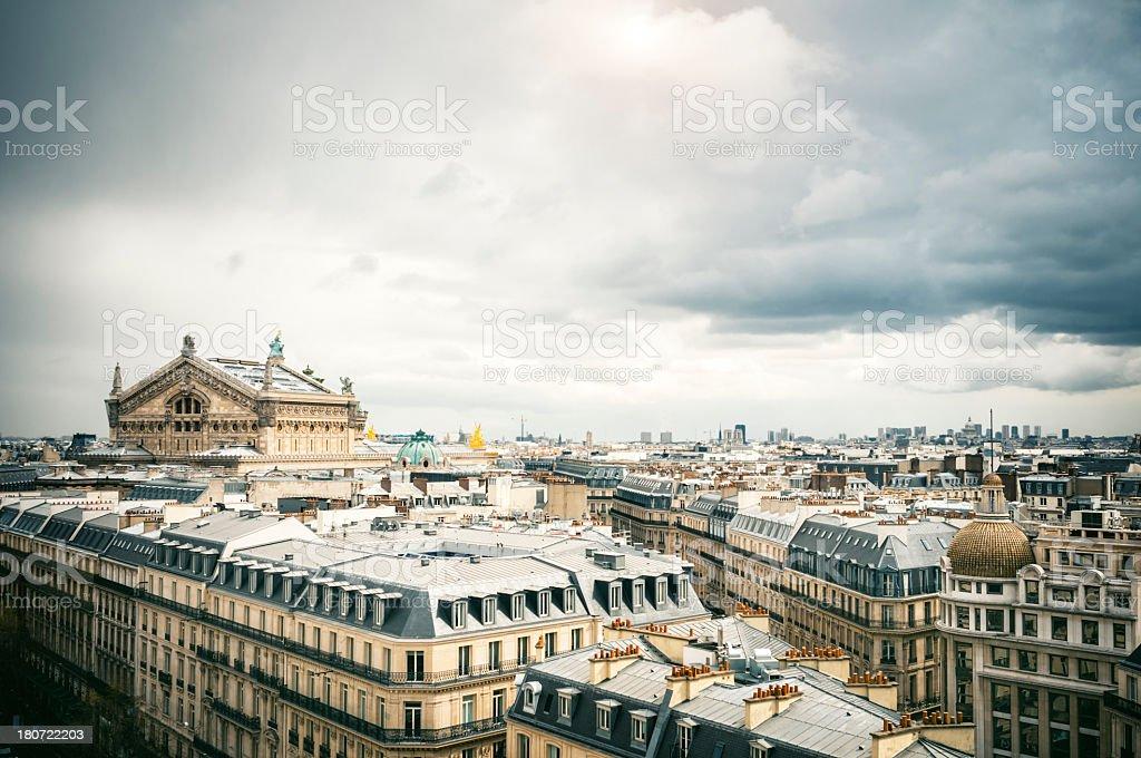 Opéra Garnier in Paris stock photo