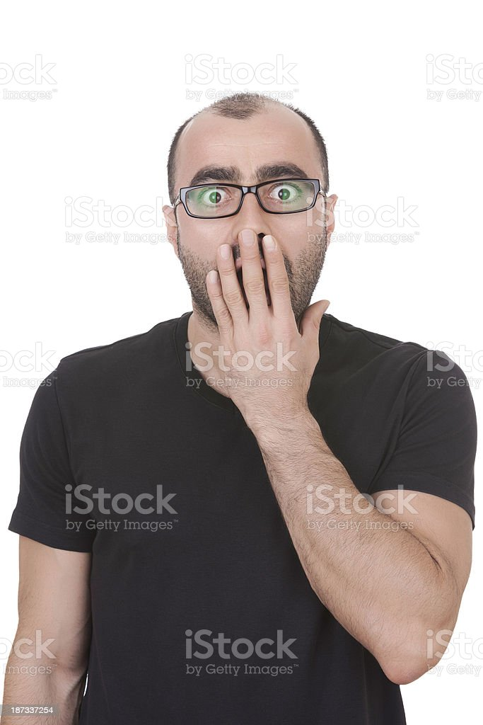 Opssss stock photo