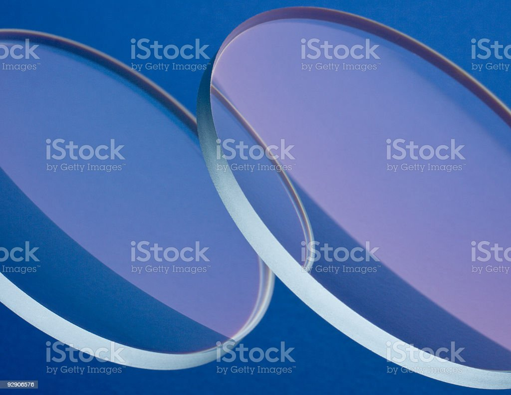 optic lenses stock photo