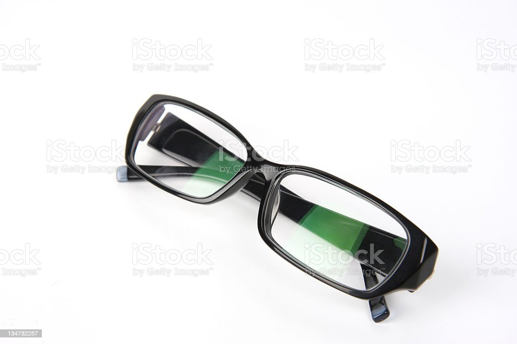 Optical Black Eyewear Series stock photo